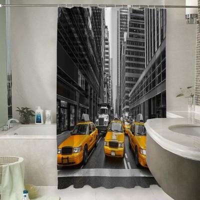 Шторы для ванной «Такси Нью-Йорка»