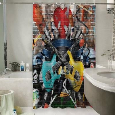 Шторы для ванной «Улетный кавардак»