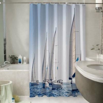 Шторы для ванной «Парусные яхты»