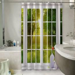 Шторы для ванной «Панорамное окно»