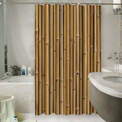 Шторы для ванной «Бамбуковая стена»