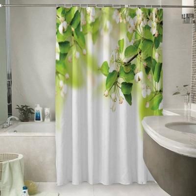 Шторы для ванной «Цветы яблони»