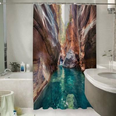 Шторы для ванной «Ущелье»
