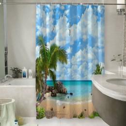 Шторы для ванной «Лазурный пляж»