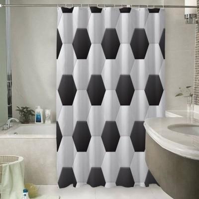 Шторы для ванной «Футбольная текстура»