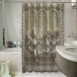 Шторы для ванной «Ангелочки»