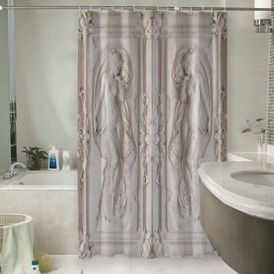 Шторы для ванной «Барельеф с обнаженными девами»