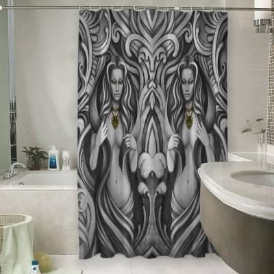 Шторы для ванной «Роковые колдуньи»