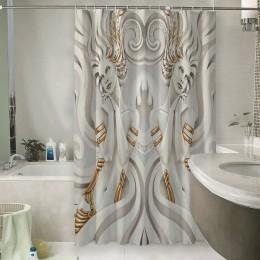 Шторы для ванной «Мечтающие богини»