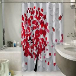 Шторы для ванной «Дерево любви»