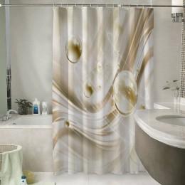 Шторы для ванной «Жемчужины в невесомости»