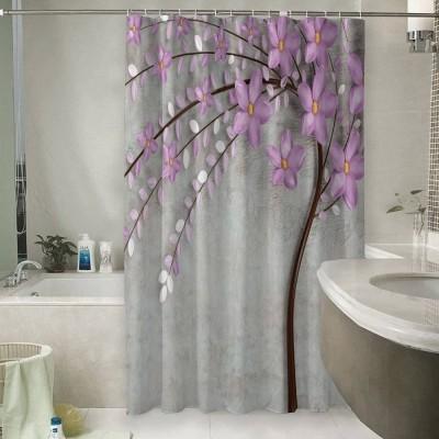 Шторы для ванной «Весенняя сакура»