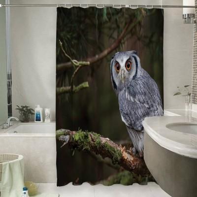 Шторы для ванной «Симпатичная сова»