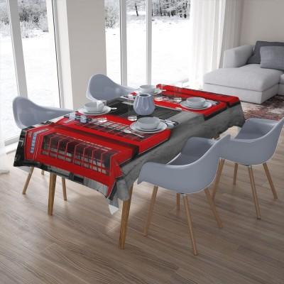 3D скатерти «Телефонные будки»