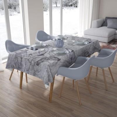 3D скатерти «Туманная поляна»