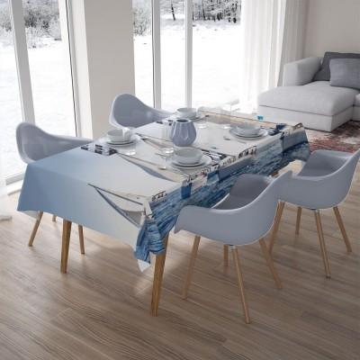 3D скатерти «Парусные яхты»