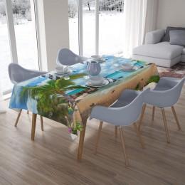 3D скатерти «Лазурный пляж»