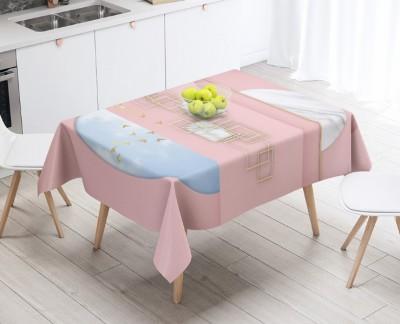 3D Скатерть «Розовый баланс»