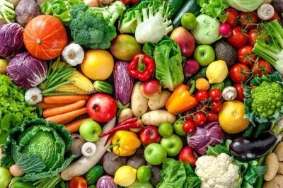 3D Фотообои «Фруктово-овощное изобилие»