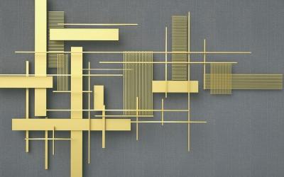 3D Фотообои «Простая геометрия»