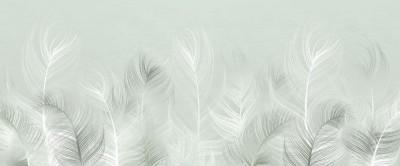 3D Фотообои «Нежная изгородь»