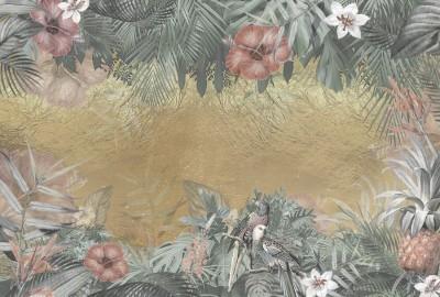 3D Фотообои  «Тропический натюрморт»