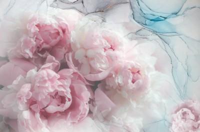 3D Фотообои «Цветочное спокойствие»