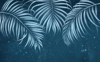 3D Фотообои  «Ночь в джунглях»
