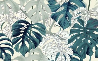 3D Фотообои  «Тропиканка»