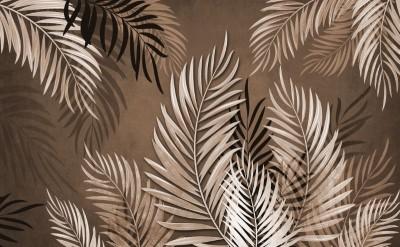 3D Фотообои «Тропические ветви»