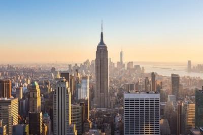 3D Фотообои  «Вид на небоскребы»