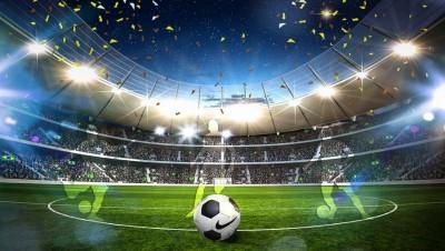3D Фотообои «Стадион в Бразилии»