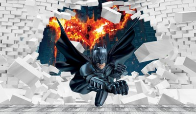 3D Фотообои «Бэтмен»
