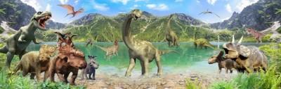 3D Фотообои «Динозавры»
