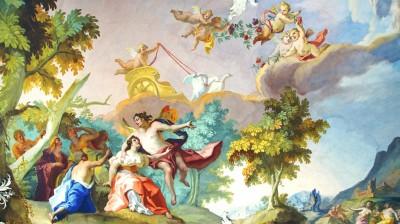 3D Фотообои  «Ангелы в небе»