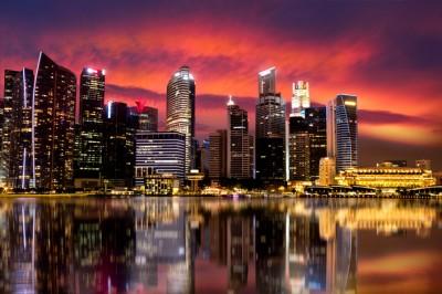 3D Фотообои  «Мегаполис.Город»