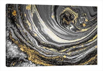 5D картина «Золотой водоворот»