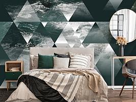 3D Фотообои  «Морская геометрия» вид 6