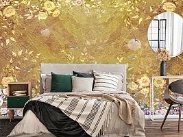 3D Фотообои  «Золотая композиция» вид 4