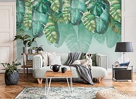 3D Фотообои  «Изумрудная пальма» вид 6