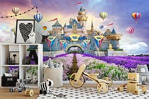 3D Фотообои «Чудесный замок»