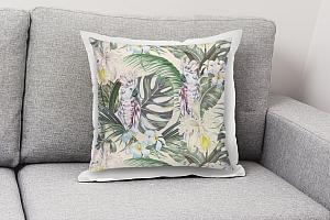 3D Подушка «Какаду в цветущих тропиках» вид 8