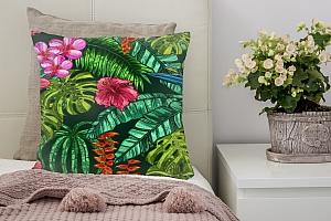 3D Подушка «Яркие тропические акценты» вид 2