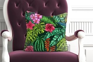 3D Подушка «Яркие тропические акценты» вид 5