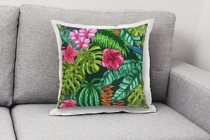 3D Подушка «Яркие тропические акценты» вид 8