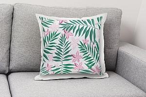 3D Подушка «Нежность в тропическом саду» вид 8