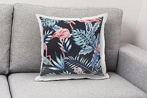 3D Подушка «Тропическая ночь.Фламинго» вид 8