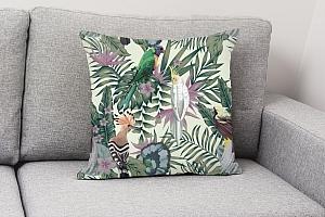 3D Подушка «Райские птицы в саду» вид 4