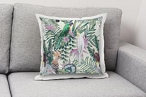3D Подушка «Райские птицы в саду» вид 8