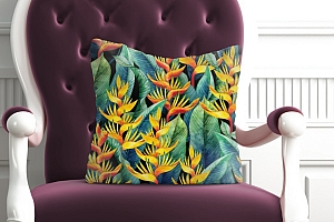 3D Подушка «Тропическая мелодия» вид 5